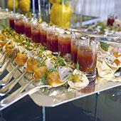 Votre traiteur savenay exemple de verrines pour cocktail