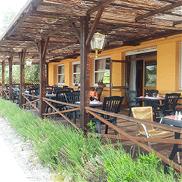 terrasse au sein du restaurant